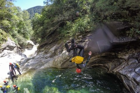 Canyoning Eldorado Ticino ESTATE 2020