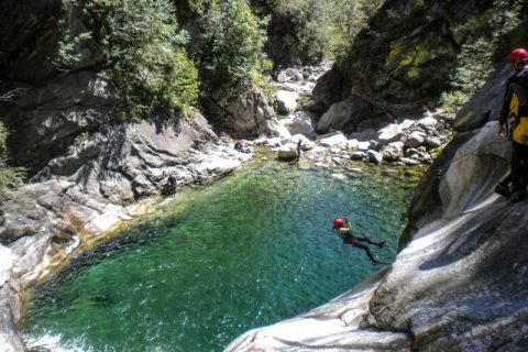 Canyoning Val Bodengo ESTATE 2020