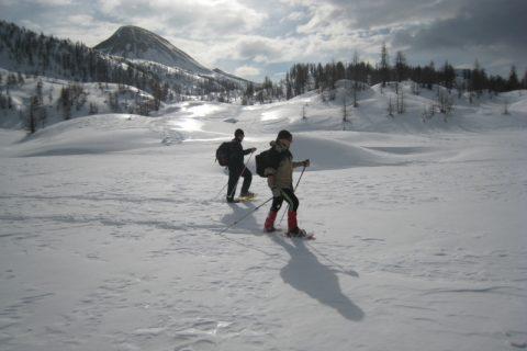 Ciaspole Alpe Devero