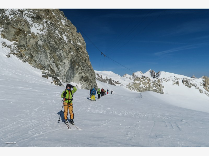 Vallée Blanche _ mont blanc _ 11-03-17 _ 10