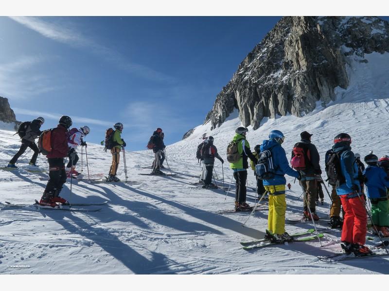 Vallée Blanche _ mont blanc _ 11-03-17 _ 12