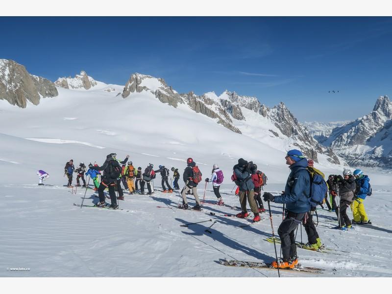 Vallée Blanche _ mont blanc _ 11-03-17 _ 16
