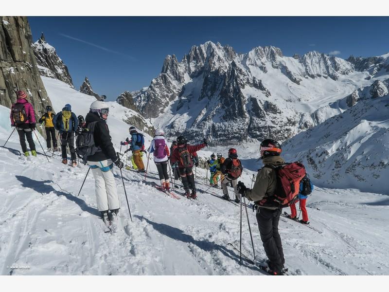 Vallée Blanche _ mont blanc _ 11-03-17 _ 19