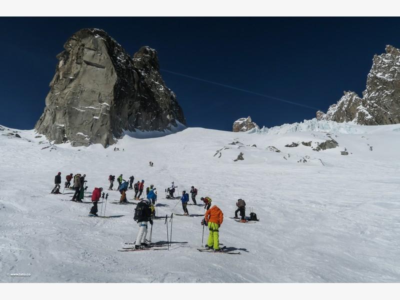 Vallée Blanche _ mont blanc _ 11-03-17 _ 20
