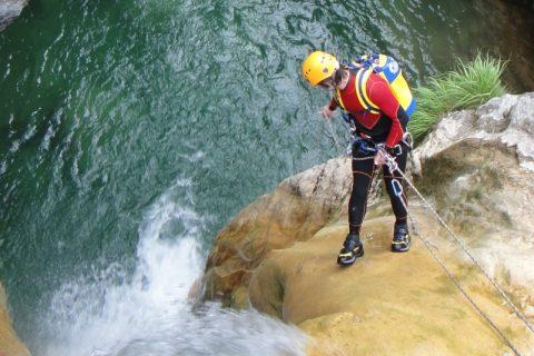 Canyoning Perlana