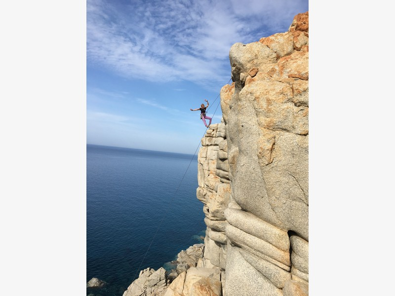 Capo Pecora Stage Arrampicata Trad guide alpine proup(10)