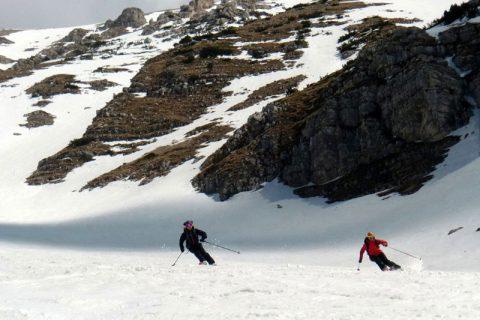 Scialpinismo Gran Sasso e Majella Mar 2018