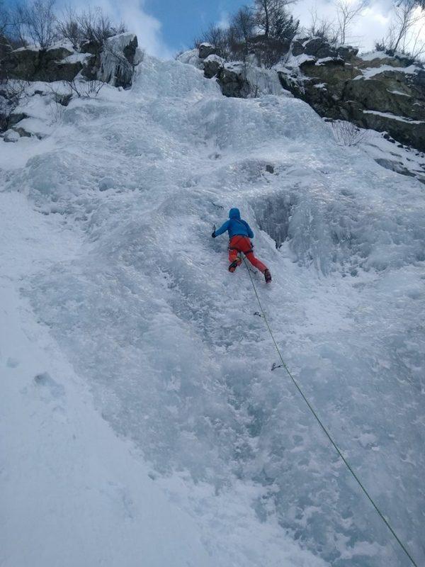 cascata Albero di Natale val Paghera