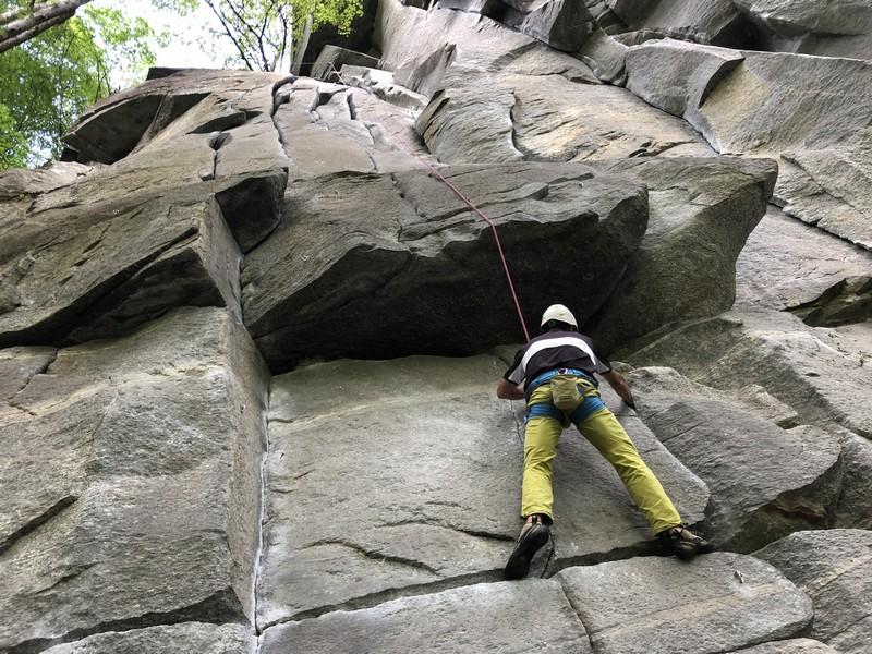 arrampicata in fessura guide alpine proup varese tecniche d'incastro (1)
