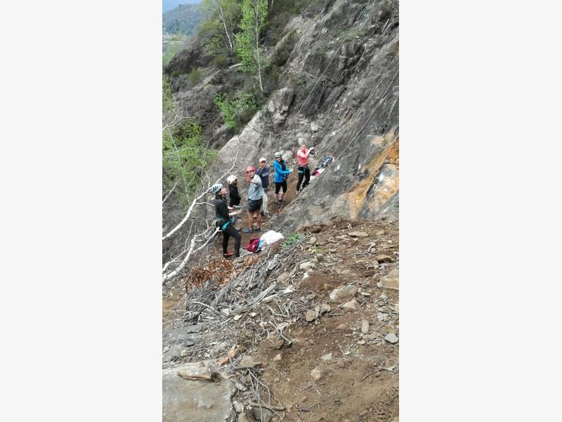 corso arrampicata avanzato guide alpine proup la panoramica falesia ossola (24)