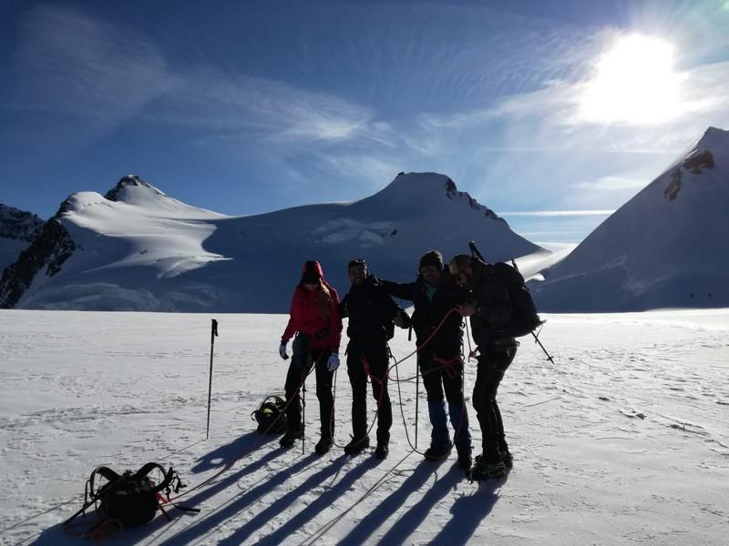 capanna margherita alpinismo alta montagna guide alpine proup (24)