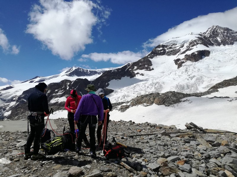 capanna margherita alpinismo alta montagna guide alpine proup (4)