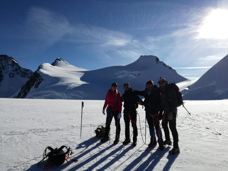 capanna margherita alpinismo alta montagna guide alpine proup (8)