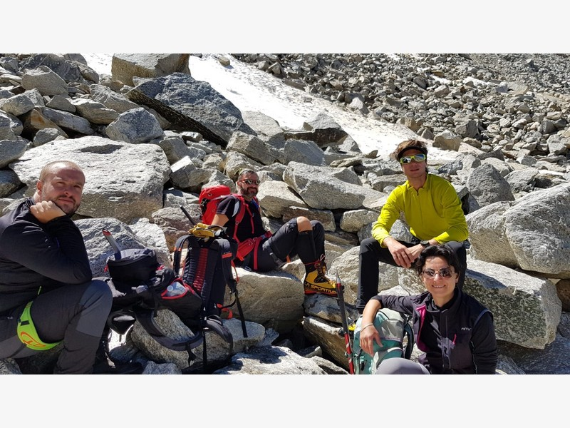 gran paradiso cai germignaga guide alpine proup alpinismo (3)