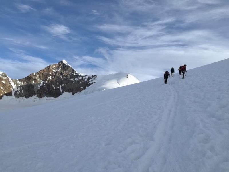 guide alpine proup punta gnifetti alpinismo alta montagna (12)