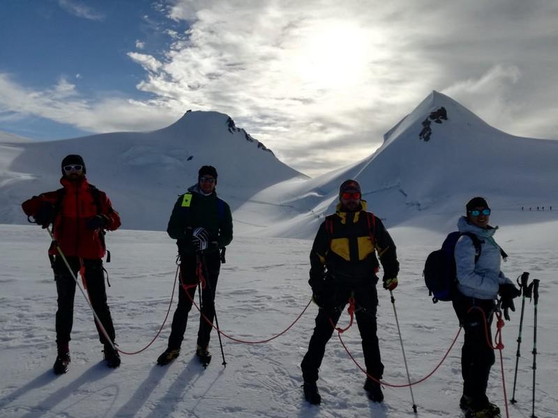 guide alpine proup punta gnifetti alpinismo alta montagna (13)