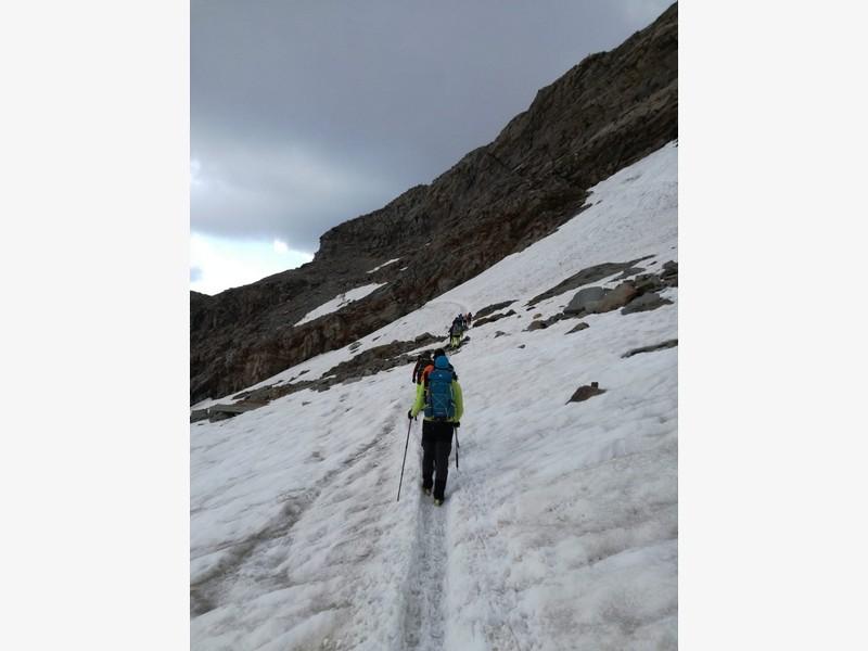 guide alpine proup punta gnifetti alpinismo alta montagna (14)