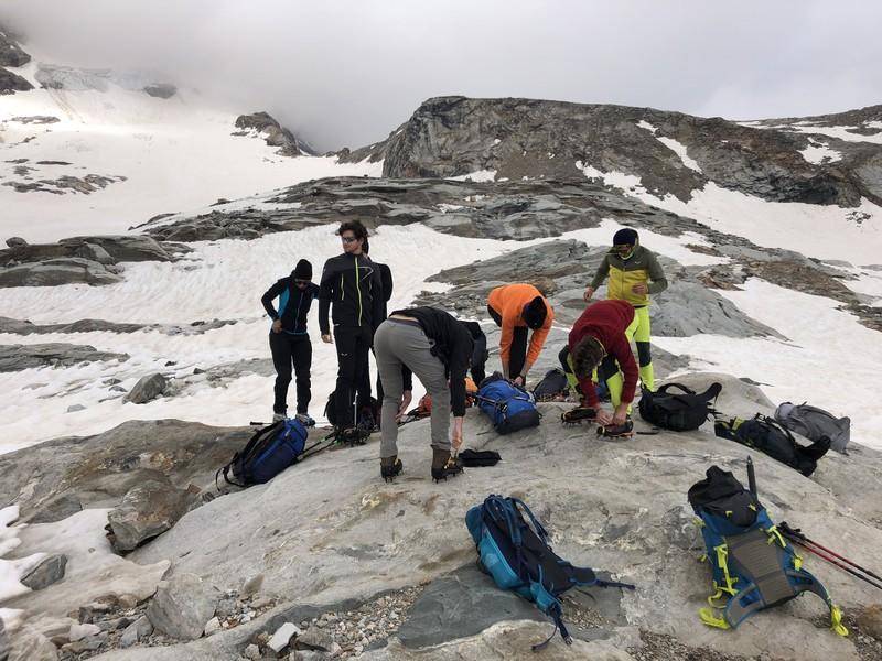 guide alpine proup punta gnifetti alpinismo alta montagna (16)