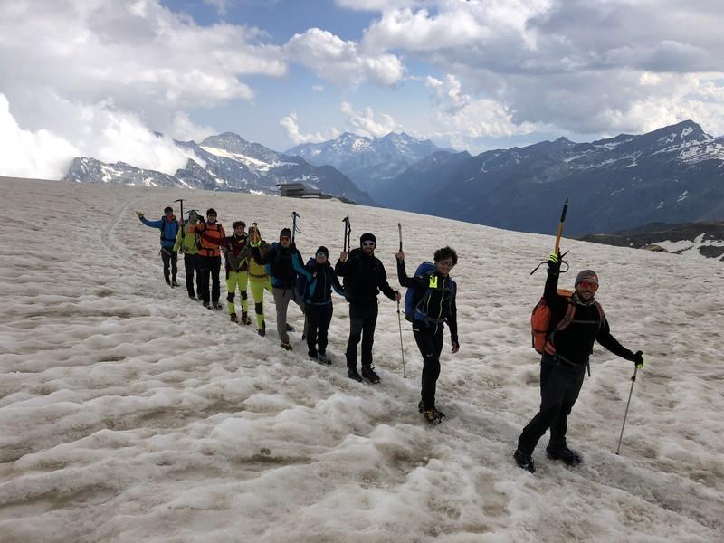 guide alpine proup punta gnifetti alpinismo alta montagna (18)
