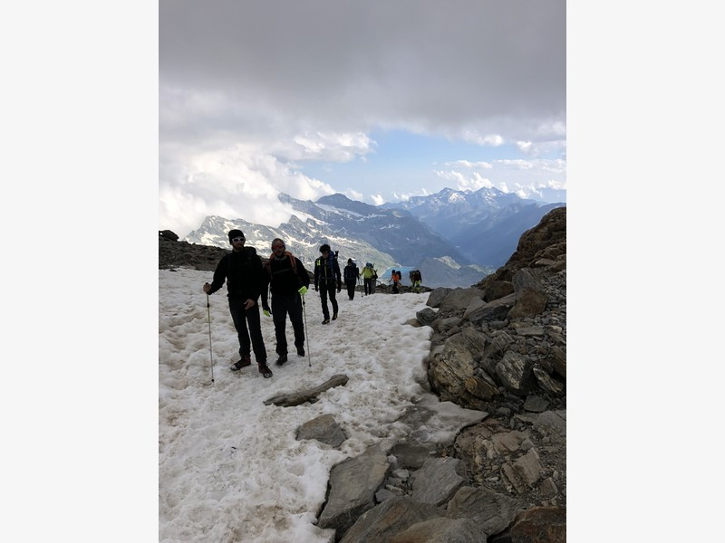 guide alpine proup punta gnifetti alpinismo alta montagna (21)