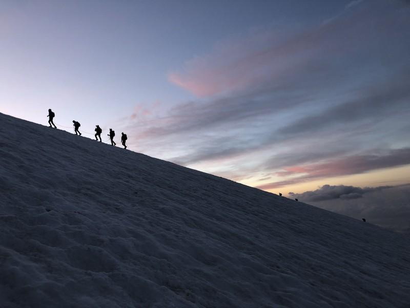 guide alpine proup punta gnifetti alpinismo alta montagna (23)