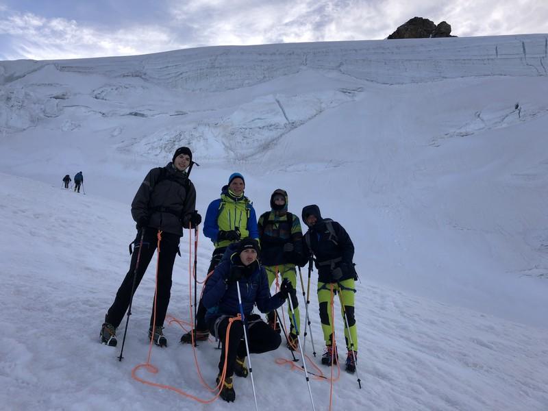 guide alpine proup punta gnifetti alpinismo alta montagna (25)