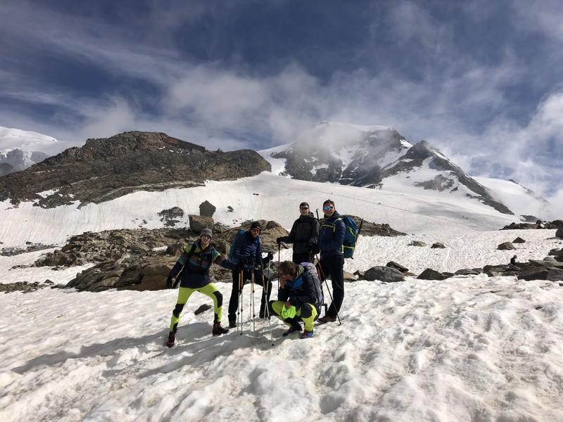 guide alpine proup punta gnifetti alpinismo alta montagna (26)