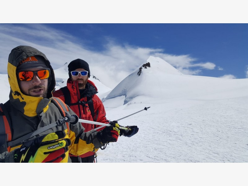 guide alpine proup punta gnifetti alpinismo alta montagna (28)