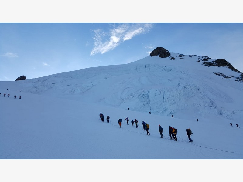 guide alpine proup punta gnifetti alpinismo alta montagna (29)