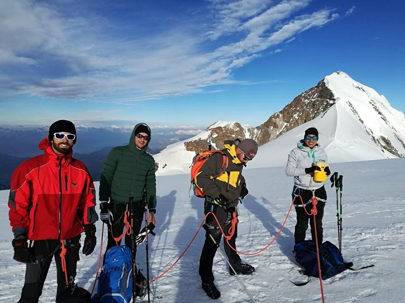 guide alpine proup punta gnifetti alpinismo alta montagna (35)