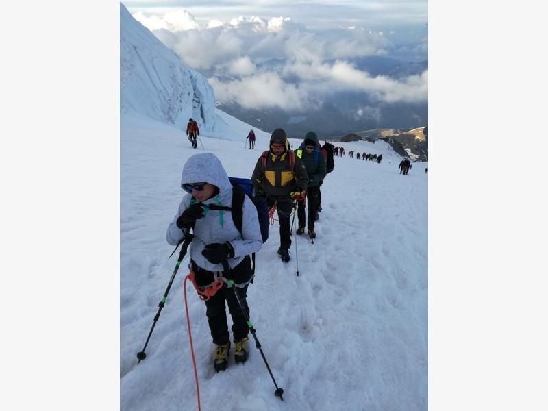 guide alpine proup punta gnifetti alpinismo alta montagna (38)