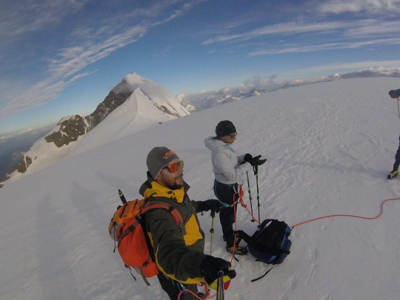 guide alpine proup punta gnifetti alpinismo alta montagna (46)