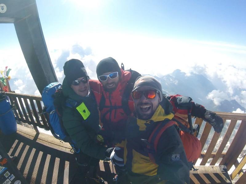 guide alpine proup punta gnifetti alpinismo alta montagna (49)