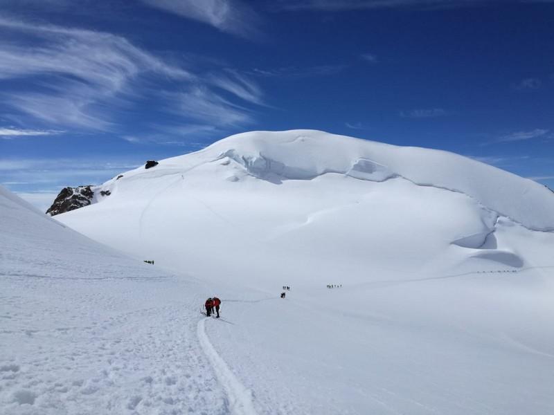 guide alpine proup punta gnifetti alpinismo alta montagna (7)