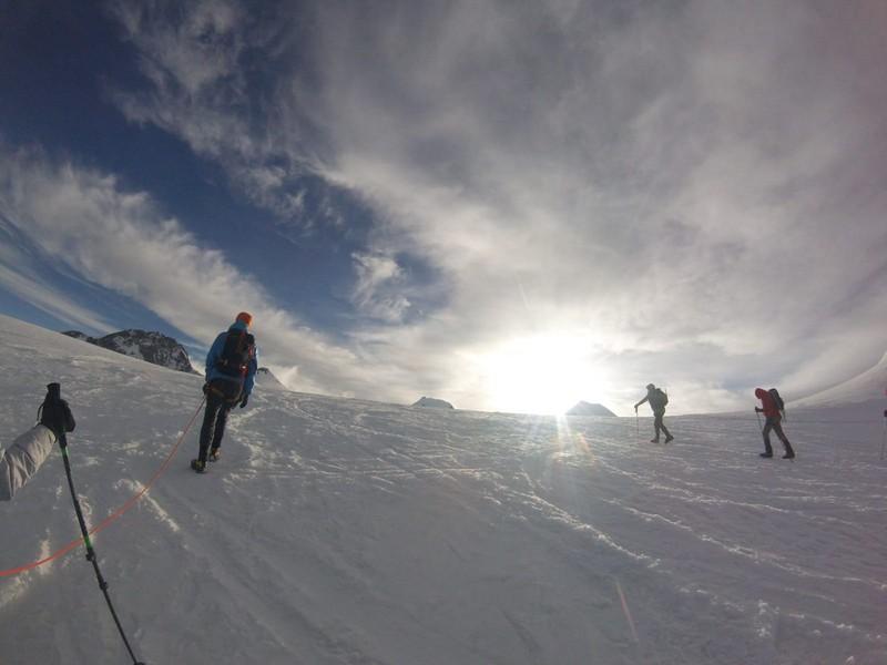 guide alpine proup punta gnifetti alpinismo alta montagna (9)