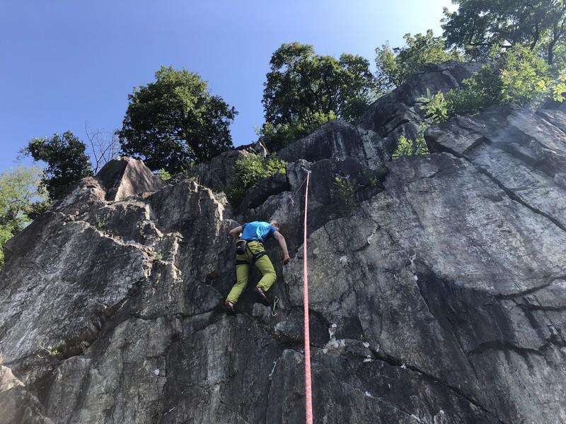 guide alpine varese arrampicata falesia maccagno (10)