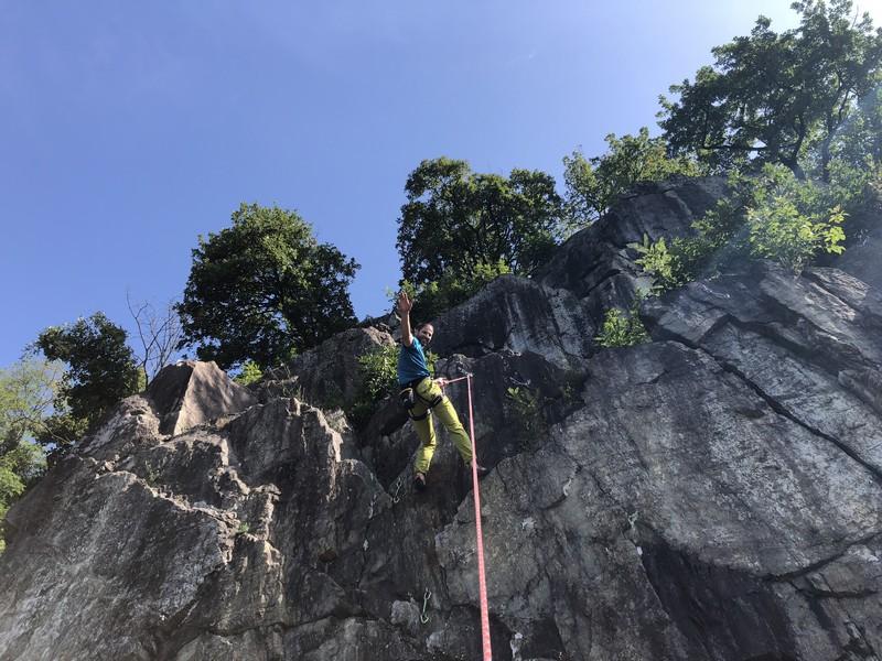 guide alpine varese arrampicata falesia maccagno (11)