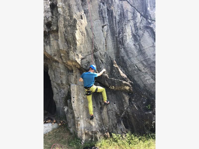 guide alpine varese arrampicata falesia maccagno (12)