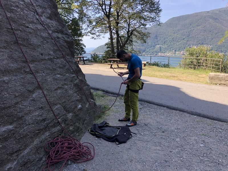 guide alpine varese arrampicata falesia maccagno (8)