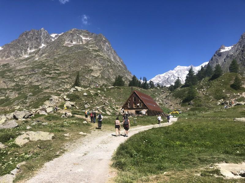 monte bianco dal rifugio gonella via normale italiana alpinismo guide alpine proup (54)