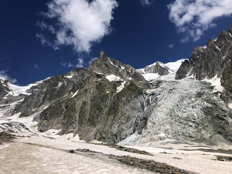 monte bianco dal rifugio gonella via normale italiana alpinismo guide alpine proup (57)