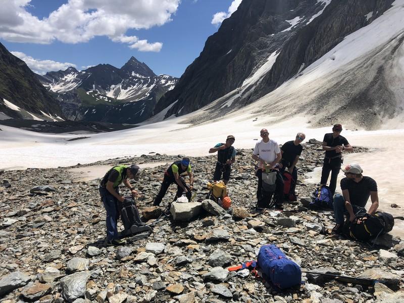 monte bianco dal rifugio gonella via normale italiana alpinismo guide alpine proup (58)