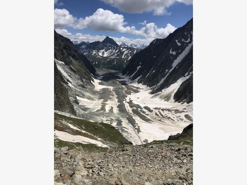 monte bianco dal rifugio gonella via normale italiana alpinismo guide alpine proup (61)