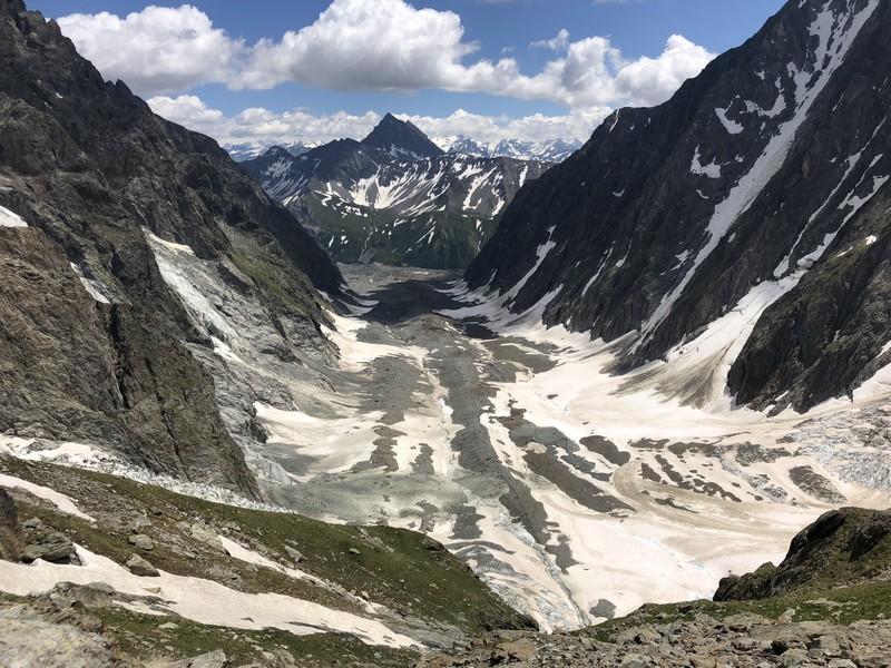 monte bianco dal rifugio gonella via normale italiana alpinismo guide alpine proup (62)