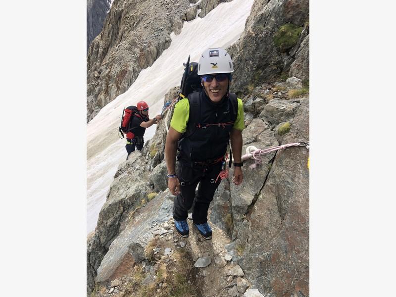 monte bianco dal rifugio gonella via normale italiana alpinismo guide alpine proup (64)