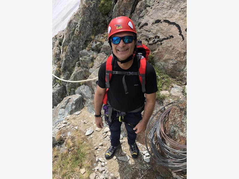 monte bianco dal rifugio gonella via normale italiana alpinismo guide alpine proup (65)