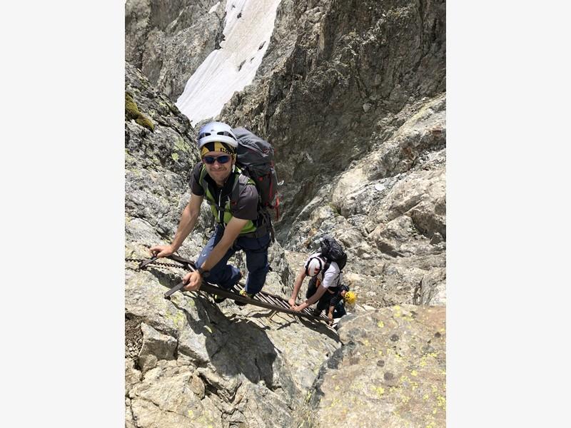 monte bianco dal rifugio gonella via normale italiana alpinismo guide alpine proup (71)