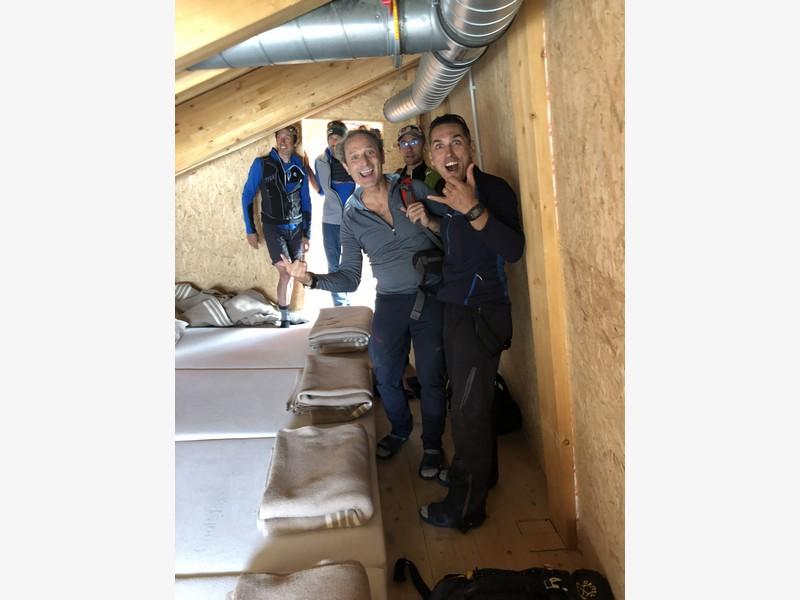 monte bianco dal rifugio gonella via normale italiana alpinismo guide alpine proup (74)