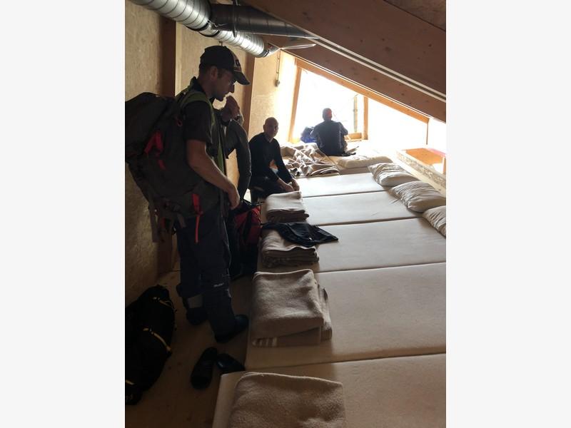 monte bianco dal rifugio gonella via normale italiana alpinismo guide alpine proup (75)