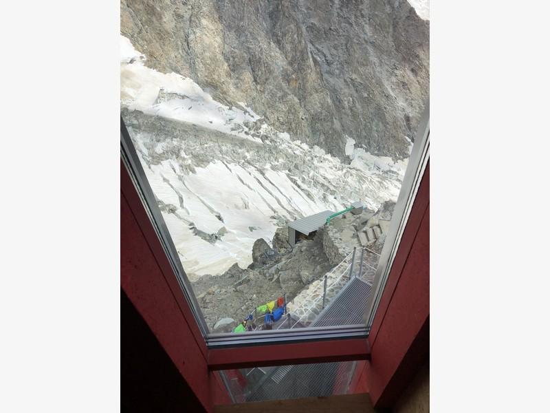 monte bianco dal rifugio gonella via normale italiana alpinismo guide alpine proup (76)